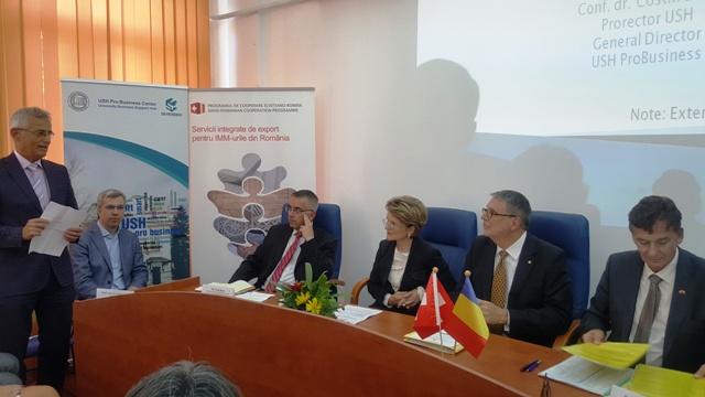 Globalizarea și internaționalizarea IMM-urilor românești în vizorul discuțiilor cu autoritățile elvețiene