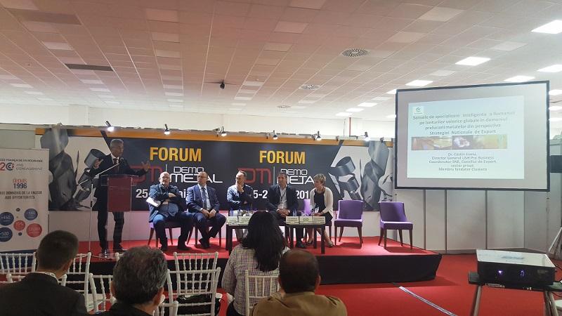 Forum DEMO METAL, eveniment dedicat inovatiei si prelucrarii metalelor/ 25 mai 2016