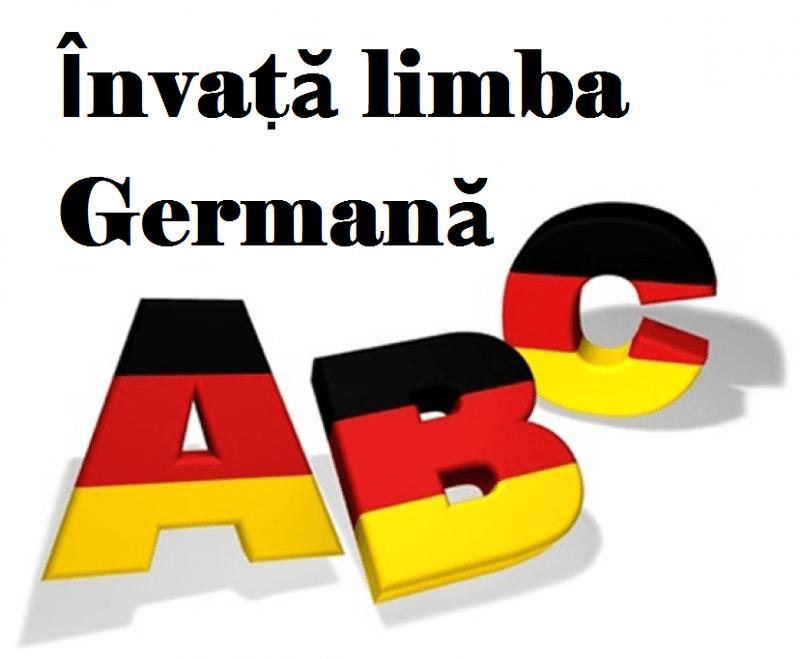 Curs de limba germană – Martie 2019