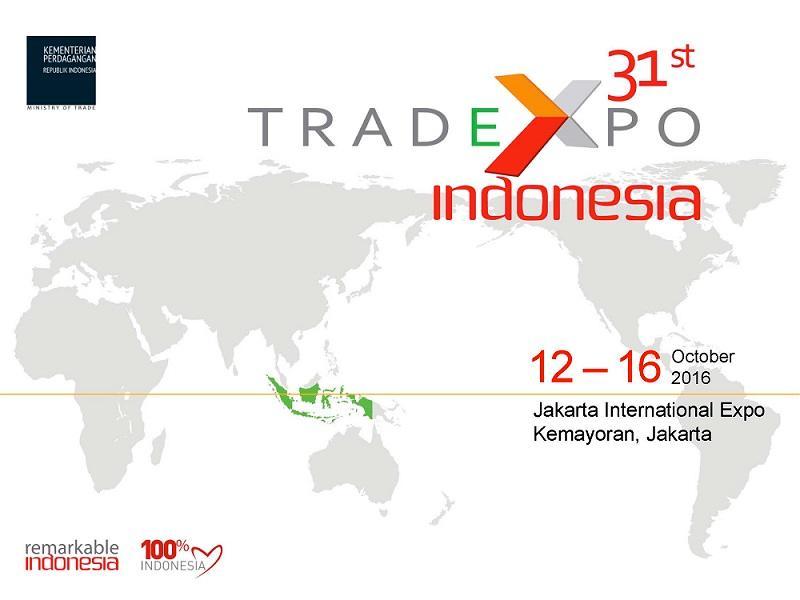 Întâlnire eveniment Trade Expo Indonesia (12-16 octombrie 2016/ Jakarta)
