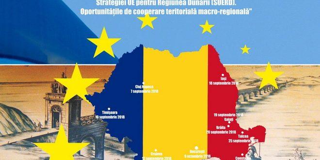 REGIONAL DANUBE STRATEGY SUMMIT, Conferință de evaluare – București, 9 Octombrie 2018